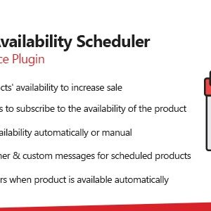 woocommerce product availability scheduler 商品販售起訖日期設定外掛(中文化)